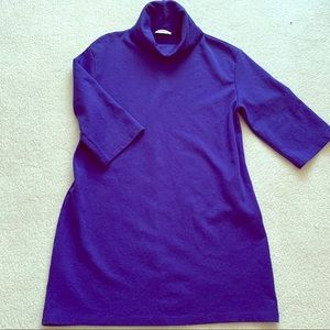 Royal Blue Jersey Tunic Dress